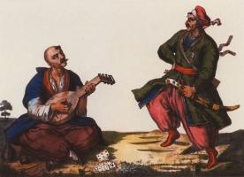 Козаки розважаються. 1778-82 рр.