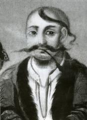 Козак Мамай (фрагмент). Сер.19 ст.