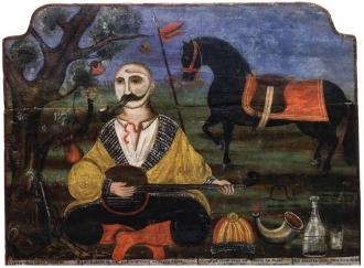 Козак-бандурист. 19 ст.